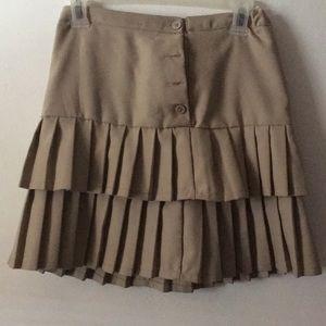Other - Khaki uniform skirt